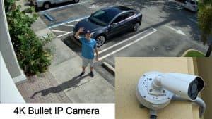 4K Outdoor Bullet IP Camera
