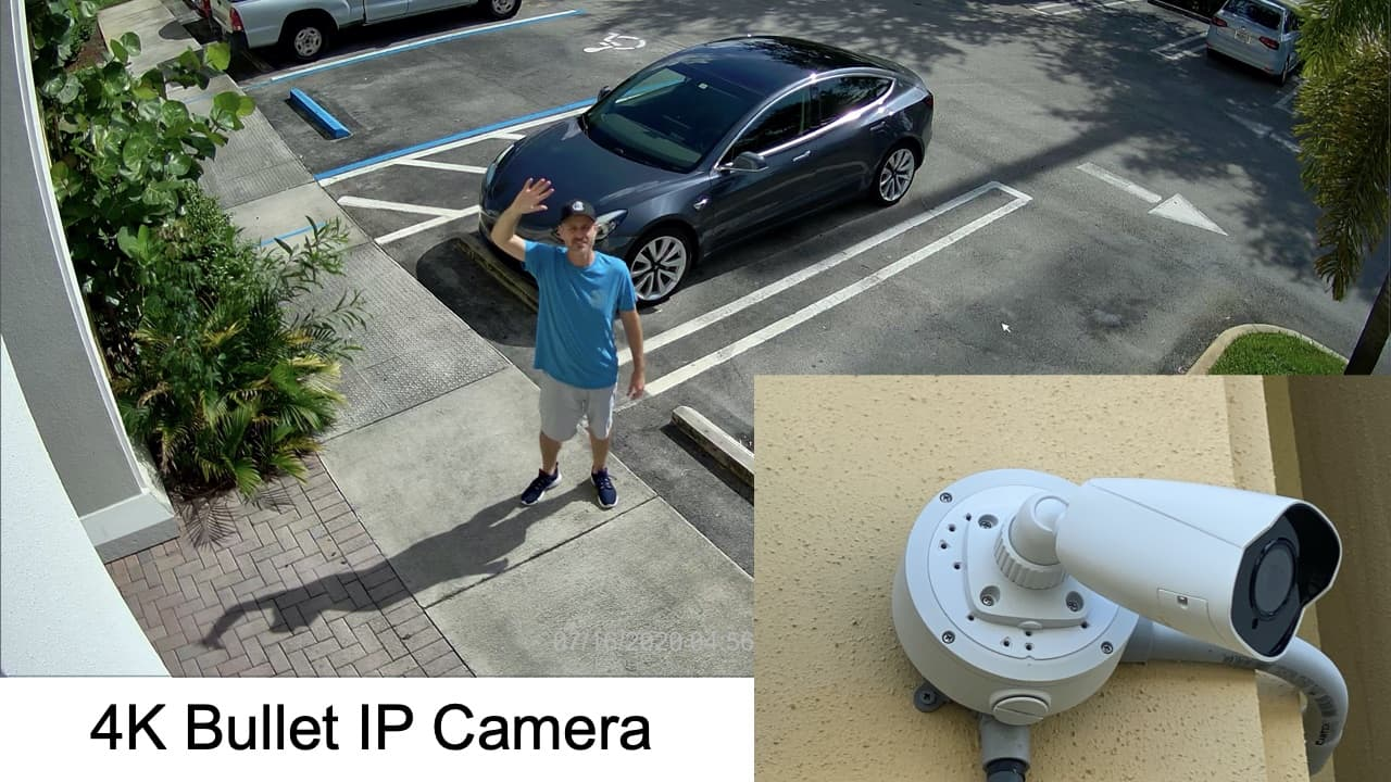 4K Outdoor Bullet IP Camera