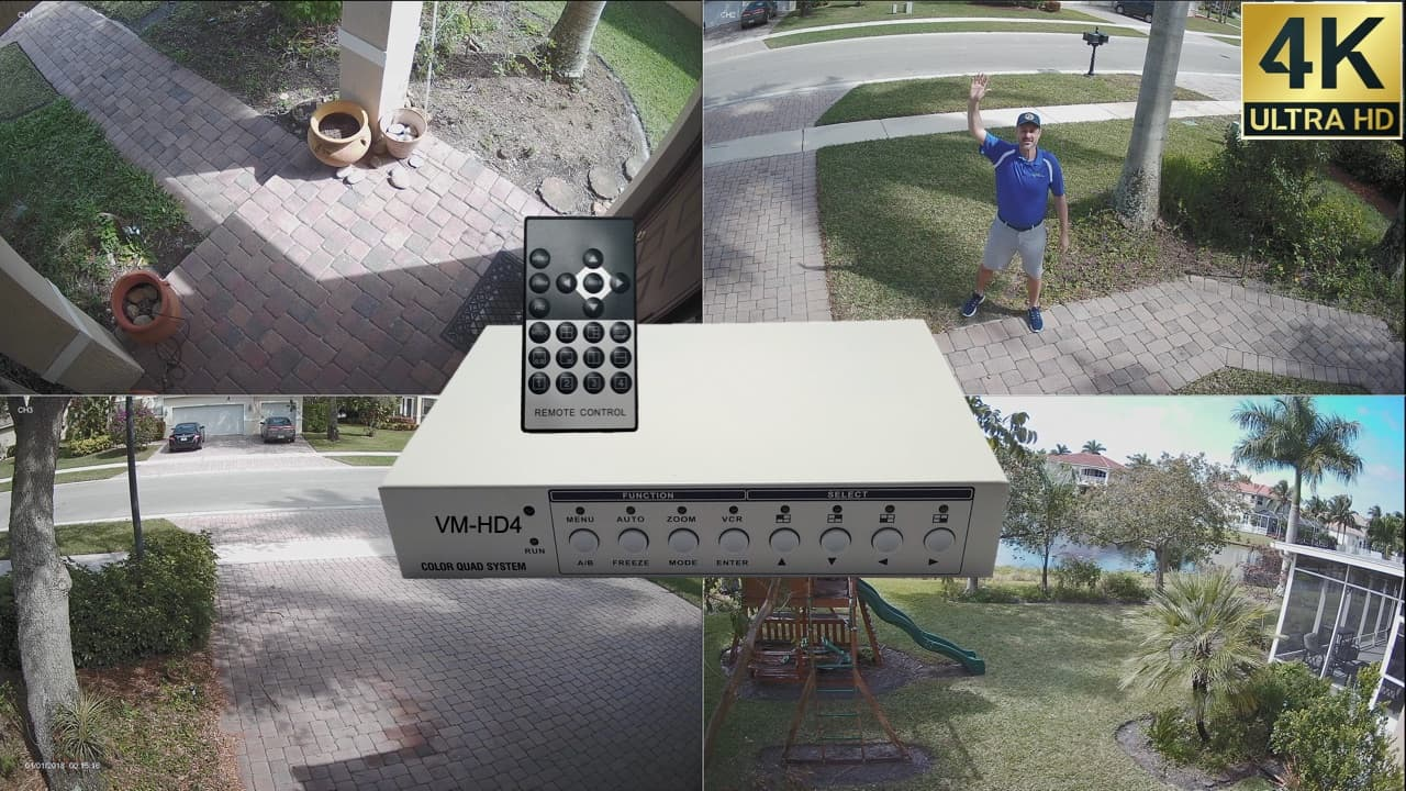 4K Security Camera System