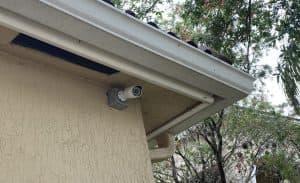 4K home security camera