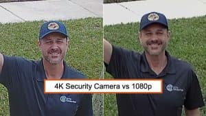 4K security camera vs 1080p