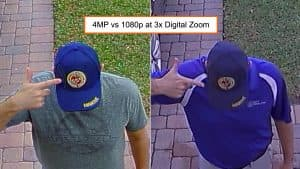 4mp vs 1080p Security Camera