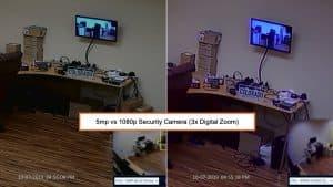 5mp vs 1080p license plate camera
