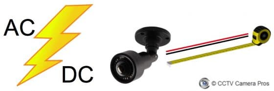 12V DC vs 24V AC Power for Security Cameras