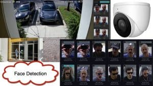 AI Face Recognition Camera