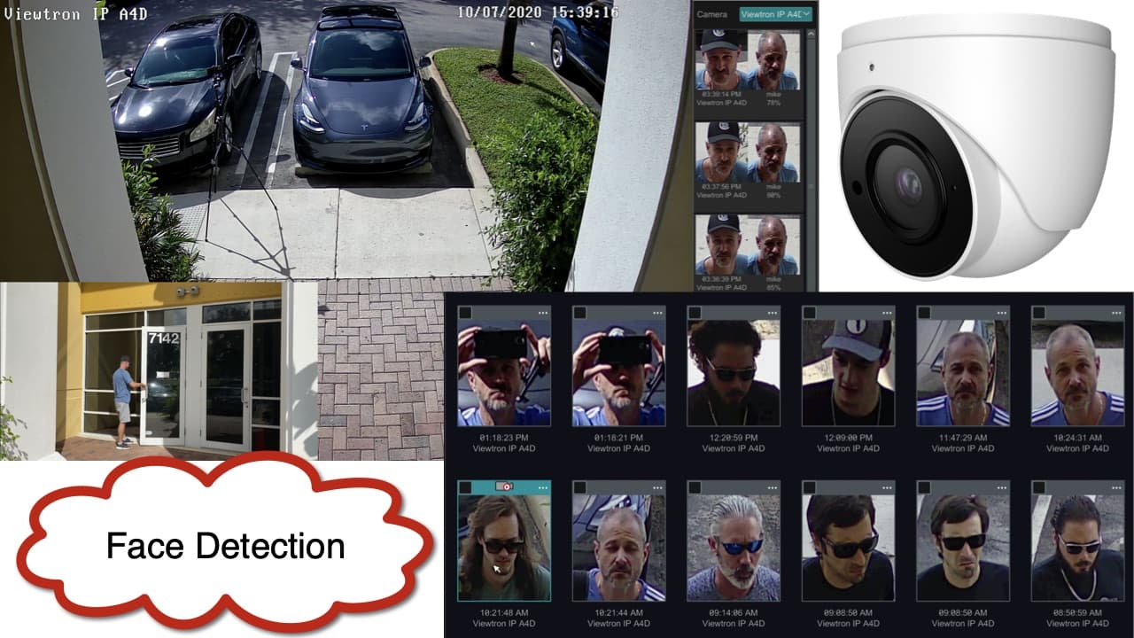 AI Face Recognition Camera