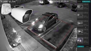 AI Security Camera IR Night Vision