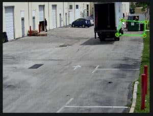 AI Security Camera People Detection