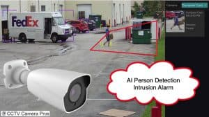 AI Security Camera Person Detection