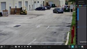 AI camera recorded video