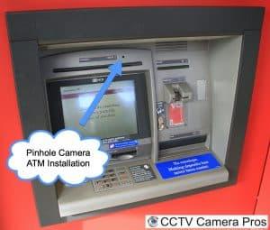 ATM pinhole camera