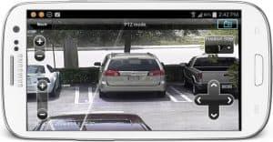 Android App Surveillance DVR PTZ Controls