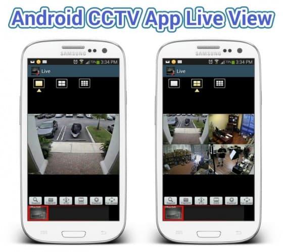 Android CCTV Camera App
