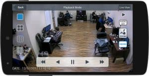 Android DVR Viewer App Recorded Video