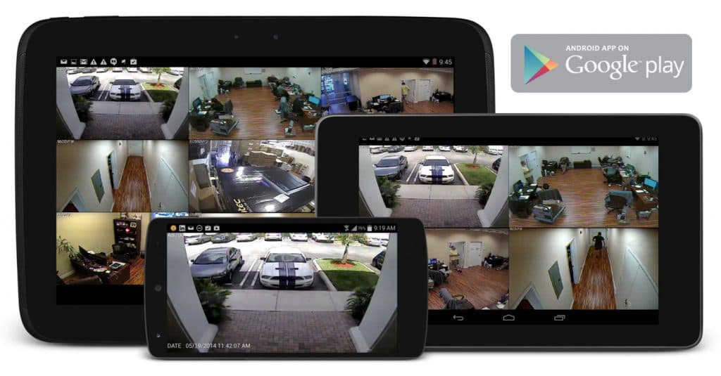 Android Security DVR Viewer App