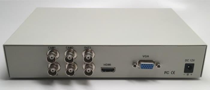 BNC Input VGA HDMI Out