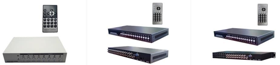 BNC camera multiplexers