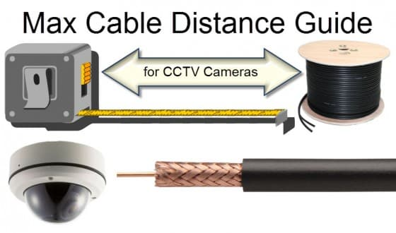 CCTV Camera Video Max Cable Length Guide