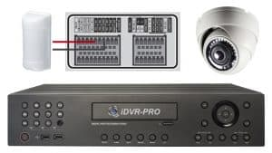 CCTV DVR Alarm Input
