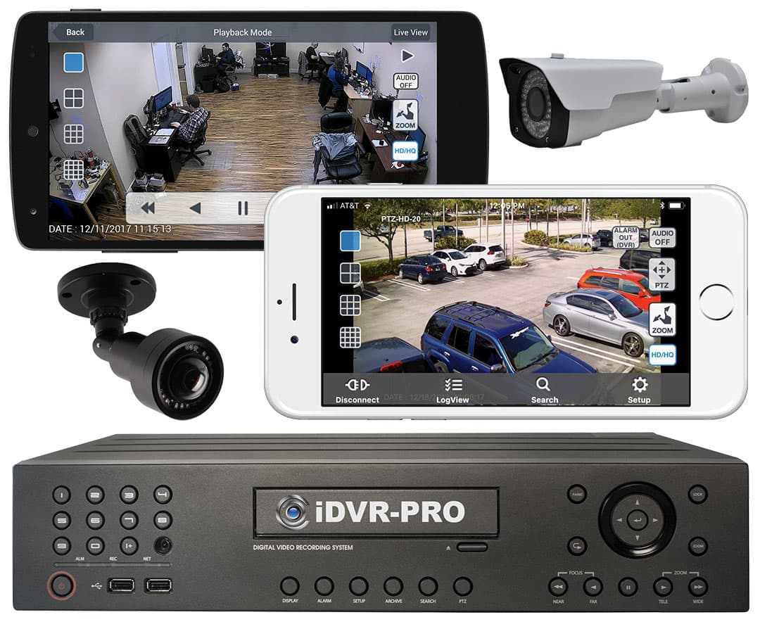 CCTV DVR Remote Camera View Mobile App