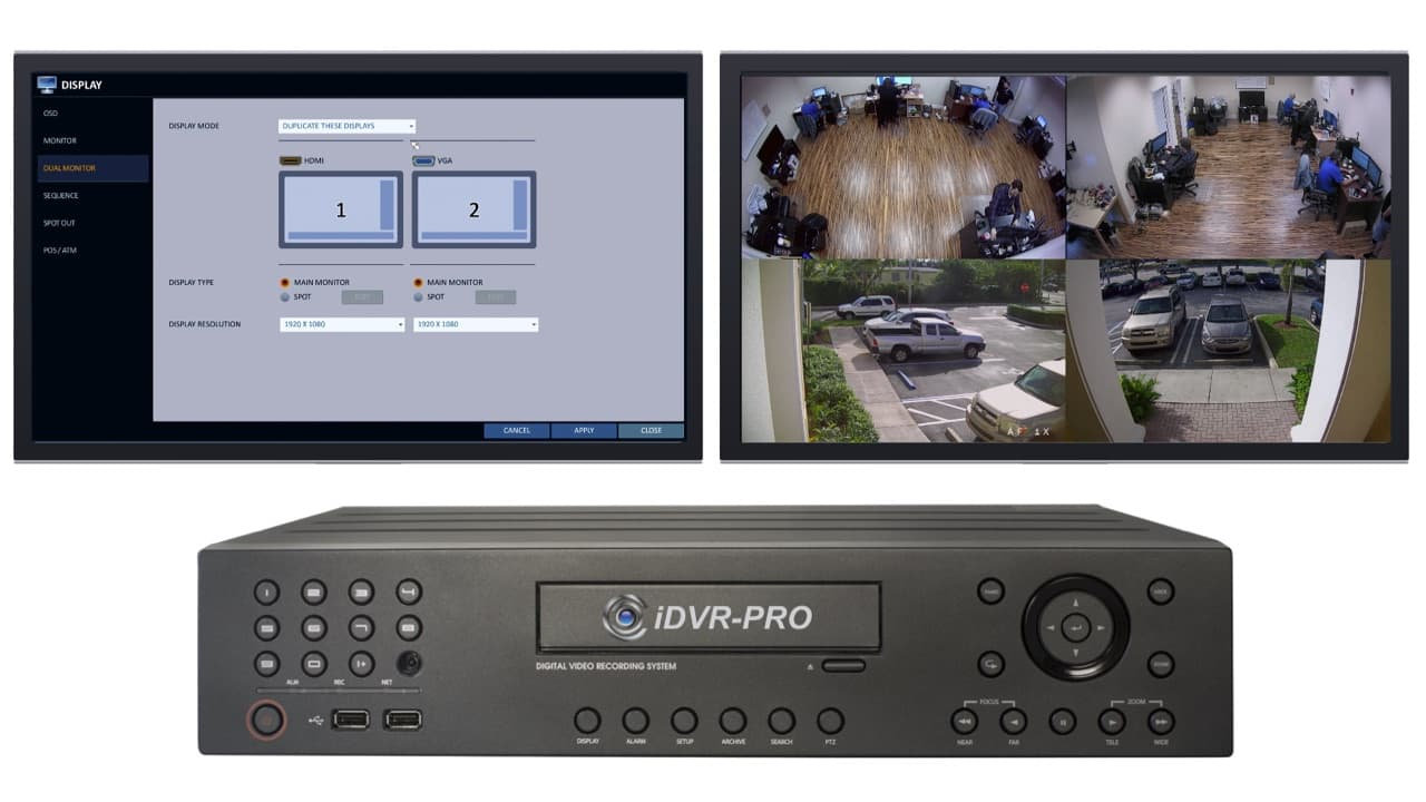 CCTV Spot Monitor