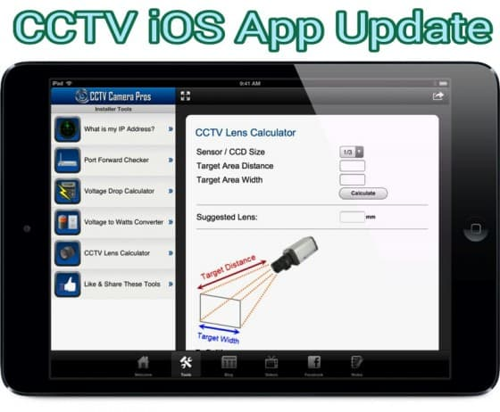 CCTV Camera Pros Mobile App for iPhone, iPad, Android Update