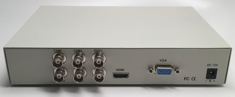 CCTV multiplexer HDMI