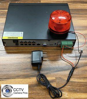 DVR Alarm Relay Output
