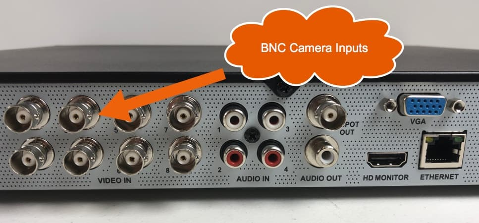 DVR BNC Security Camera