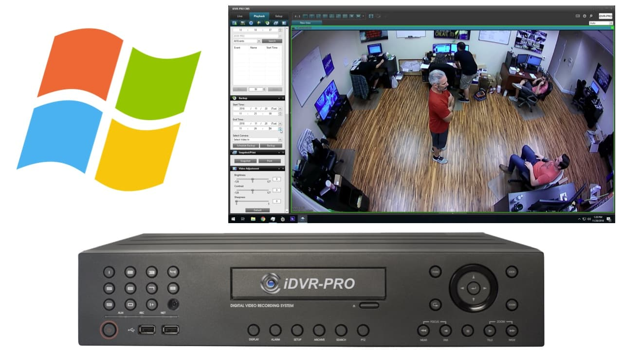 DVR Client CMS Software for Windows