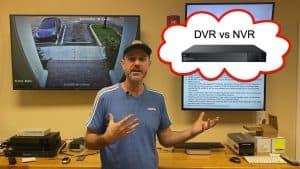 DVR vs NVR Recorder