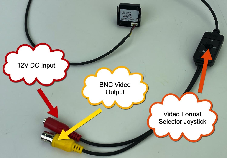 HD CCTV pinhole camera