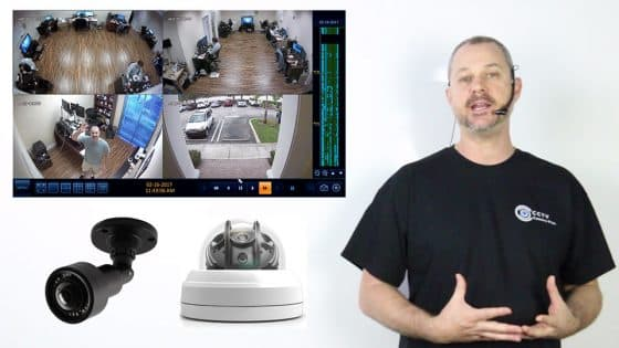 HD Security Camera Video Recording on a 1080p Surveillance DVR
