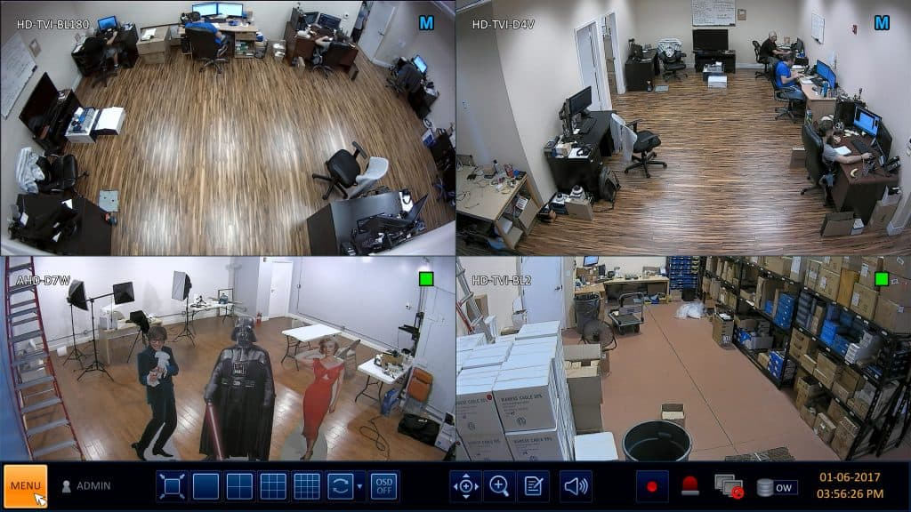 HD Security Camera DVR