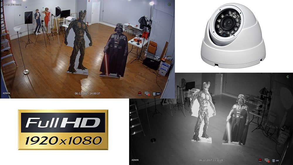 HD Security Camera Video Demo