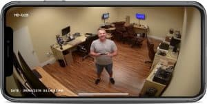 HD Security Camera iPhone Viewer App