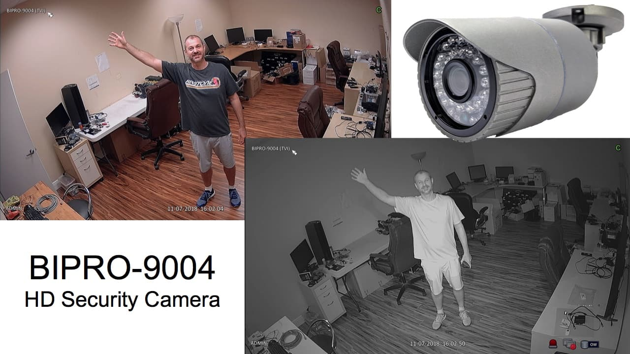 HD Security Camera with IR