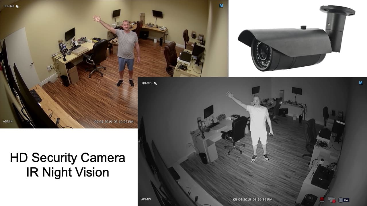 HD Security Camera with Night Vision