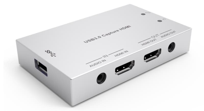 HDMI to USB Video Capture for Streaming