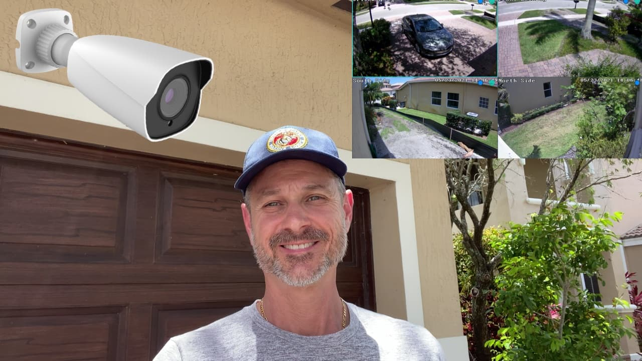 Home IP Camera System