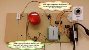 IP Camera Digital in out wiring
