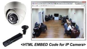 IP Camera Stream to Website