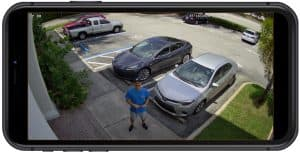 IP Camera iPhone View