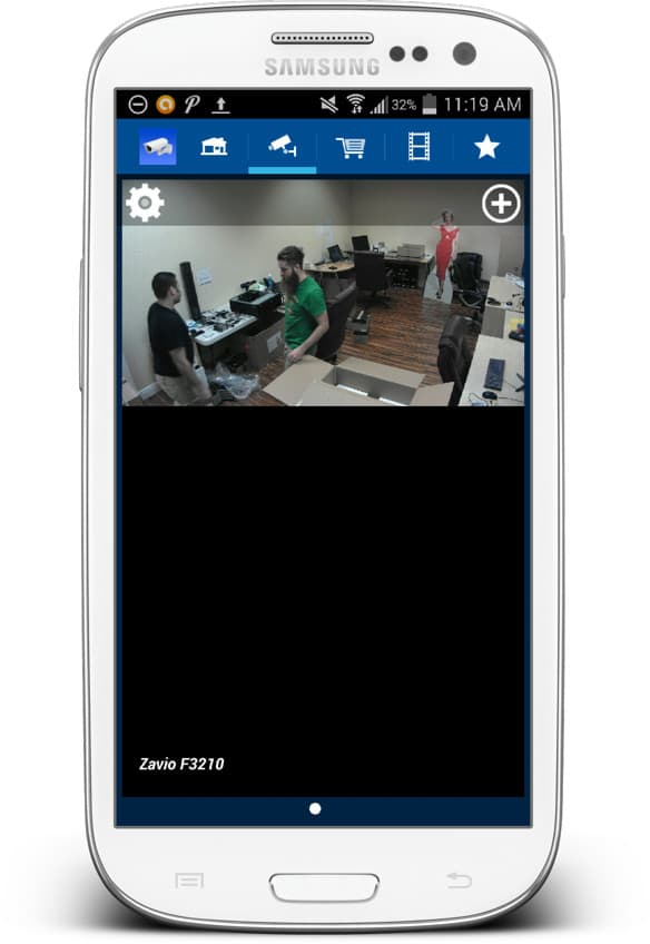 IP Camera Android App Live Video