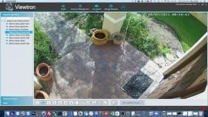 IP camera front door