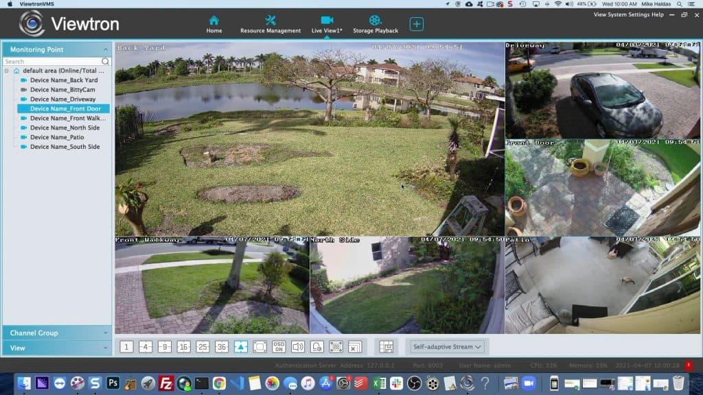 IP camera software 6ch