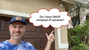 IP cameras ONVIF compliant