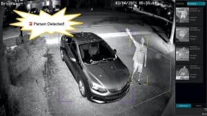 IP Security Camera AI Person Detection