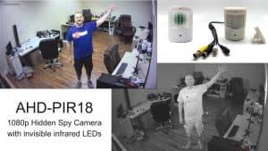 Invisible Infrared Hidden Spy Camera