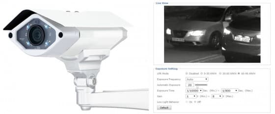 LPR Camera Mode (License Plate Recognition) Added to Zavio IP Cameras